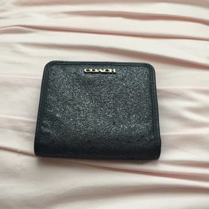 Authentic black coach wallet